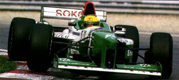 forti corse 1996 luca badoer