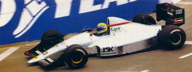 roberto moreno - 1990 - GP Phoenix