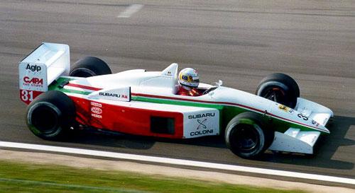 Coloni, equipe histórica de Formula 1 de 1990 by blogmonumentalformula.wordpress.com