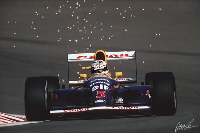 Mansell_1992_Bélgica_