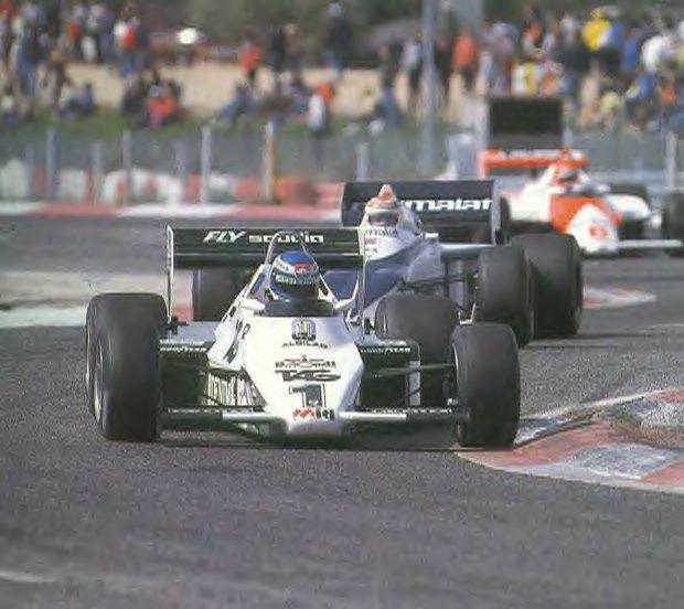rosberg 1983 williams