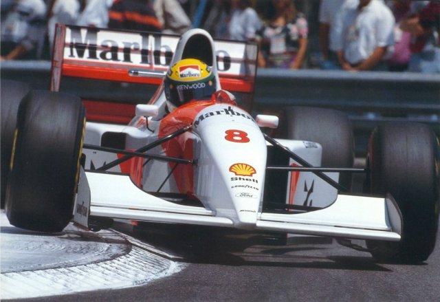 senna mônaco 1993
