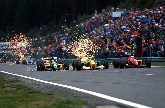 GP da Bélgica de Formula 1, Spa-Francorchamps em 1992 - by formulatotal.files.wordpress.com