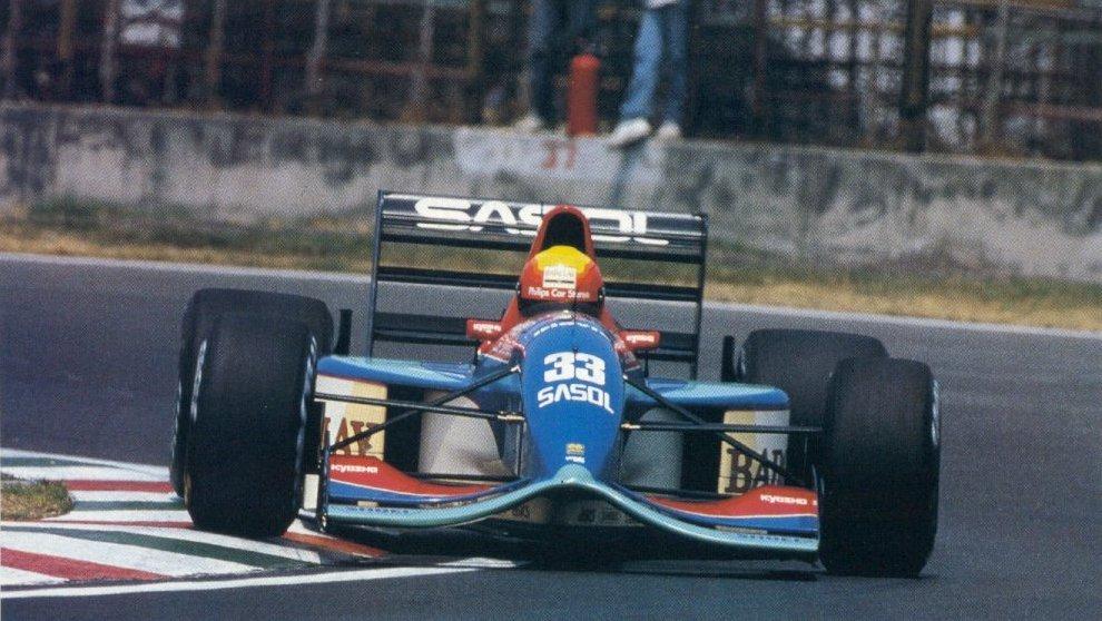 Jordan, equipe historica de Formula 1 de 1992 - by formulatotal.wordpress.com