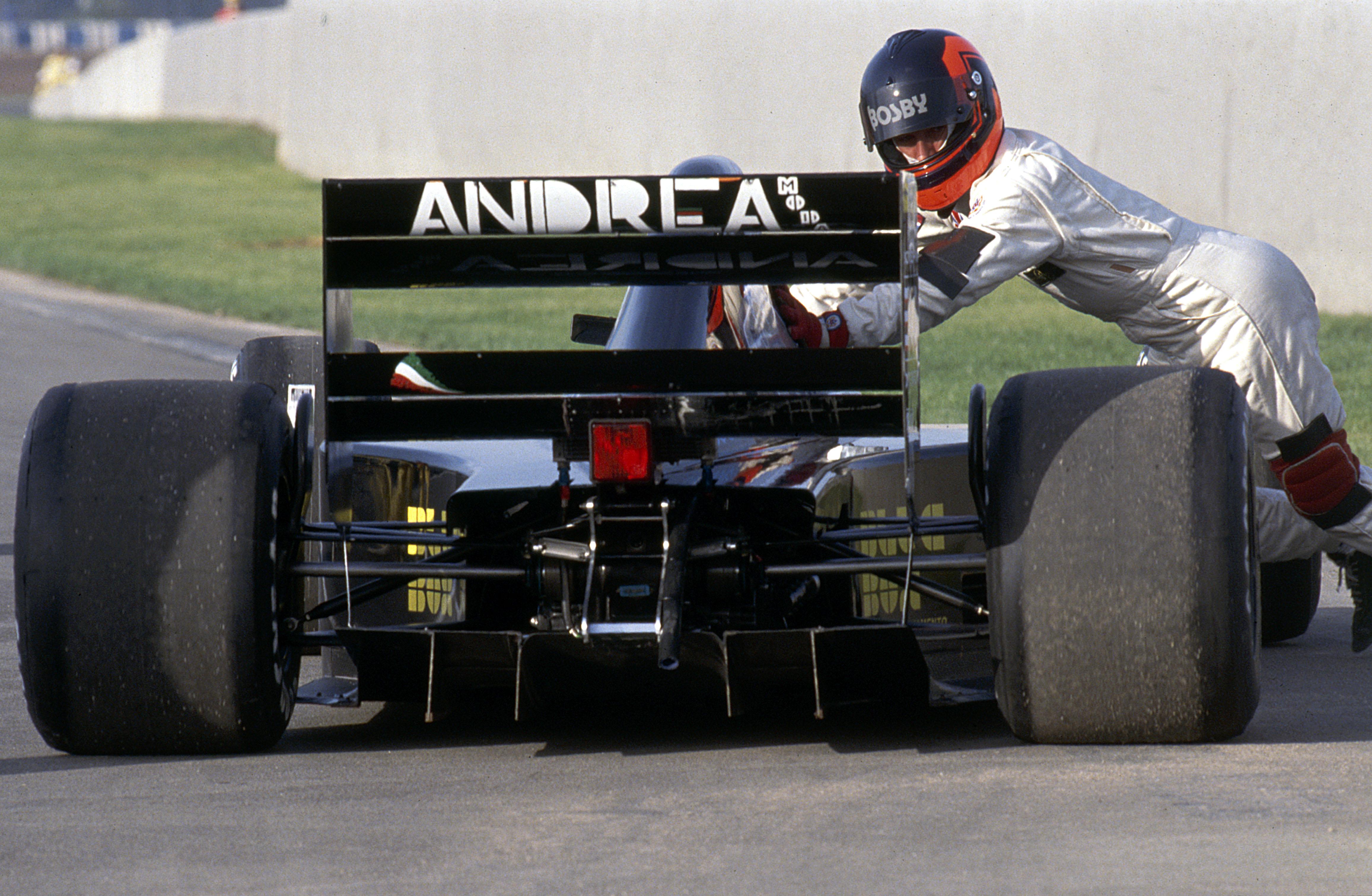 Andrea Moda f1 1992 - foto by Formula Total
