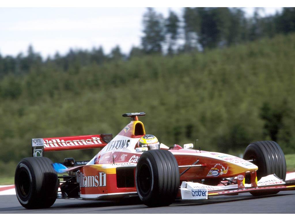 Ralf Schumacher em 1999: no