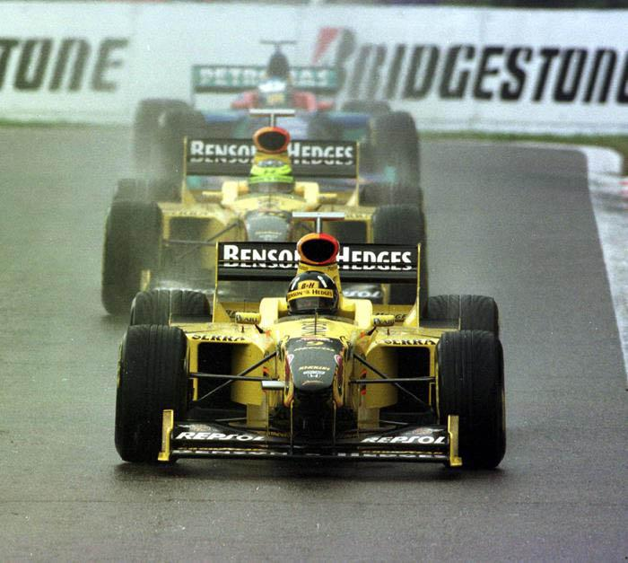 Jordan, equipe historica de Formula 1 de 1998 - by formulatotal.wordpress.com