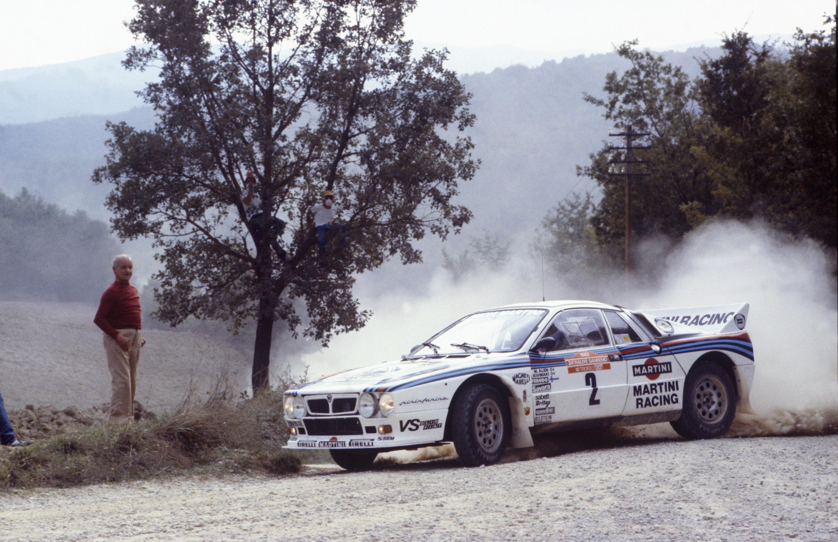 Em San Remo, pelo WRC de 1982: