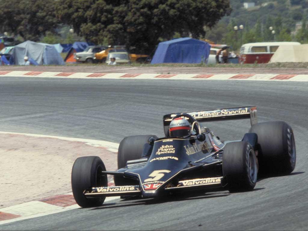 Lotus (clássica), equipe histórica de Formula 1 de 1976 - by formulatotal.wordpress.com