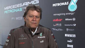 2012 MERCEDES AMG Team Launch - Norbert Haug