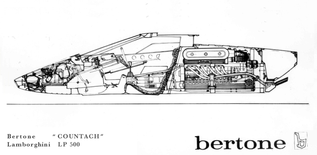 Countach LP 500 Bertone
