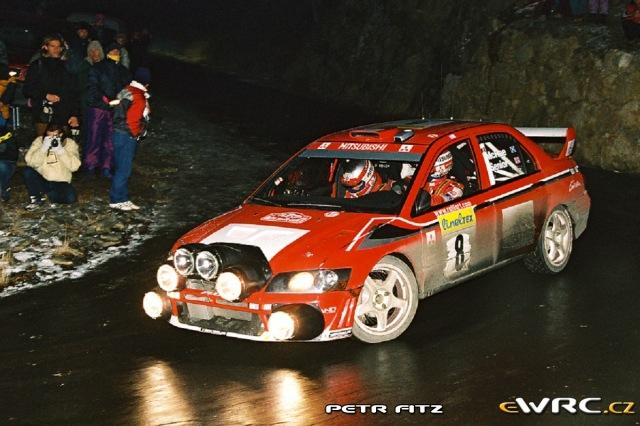Alister McRae - David Senior - Mitsubishi Lancer WRC