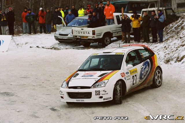 Armin Kremer - Klaus Wicha - Ford Focus RS WRC 2001
