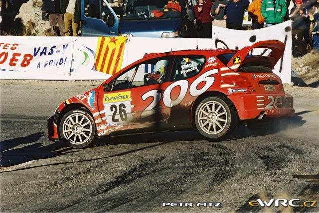 Bruno Thiry Peugeot 206 WRC