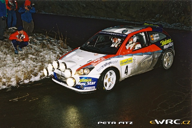 Carlos Sainz - Luis Moya - Ford Focus RS WRC 2002