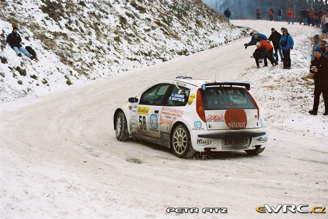 Christian Chemin - Simone Scattolin - Fiat Punto S1600