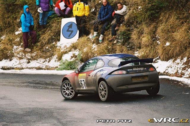 Daniel Carlsson - Per Karlsson - Ford Puma S1600