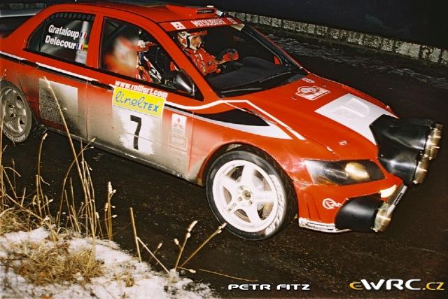 Francois Delecour - Daniel Grataloup - Mitsubishi Lancer WRC