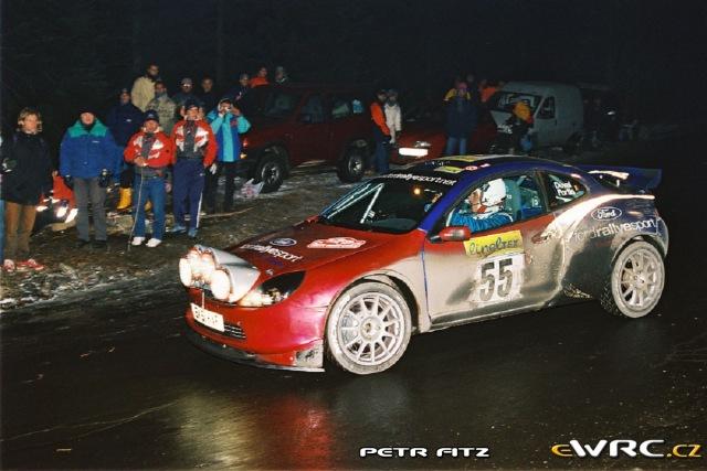 Francois Duval - Jean-Marc Fortin - Ford Puma S1600