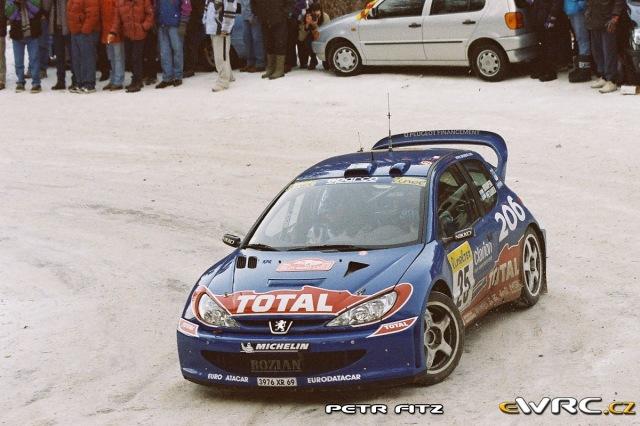 Harri Rovanperä - Risto Pietiläinen - Peugeot 206 WRC