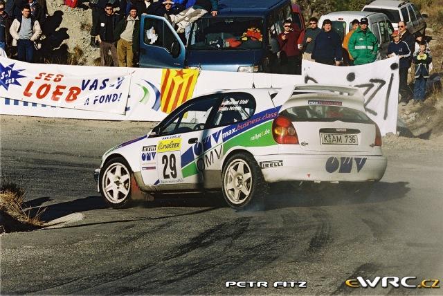 Manfred Stohl - Ilka Minor-Petrasko - Toyota Corolla WRC