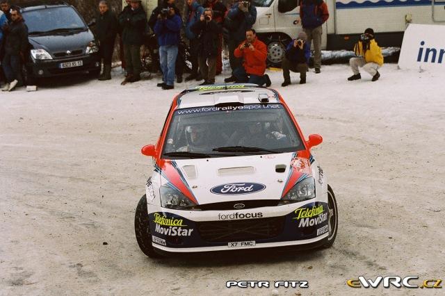 Markko Martin Michael Park - Ford Focus RS WRC 2001