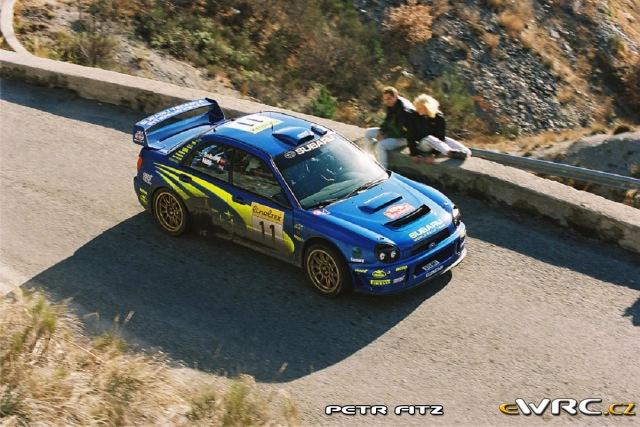Petter Solberg - Phil Mills - Subaru Impreza S7 WRC 01