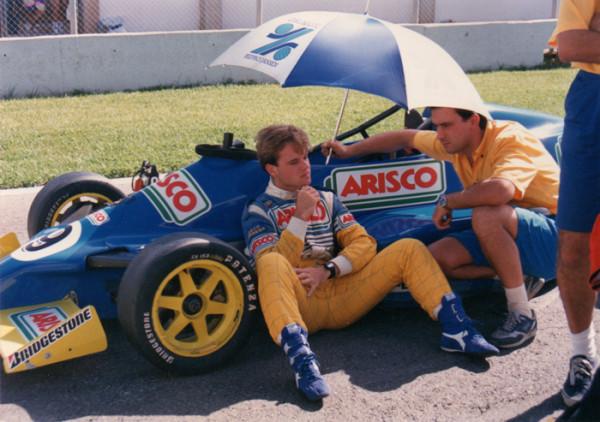 Rubens Barrichello - Jerez de La Frontera - 1990 - foto: Suzane Carvalho