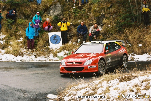 Sébastien Loeb - Daniel Elena - Citroen Xsara WRC