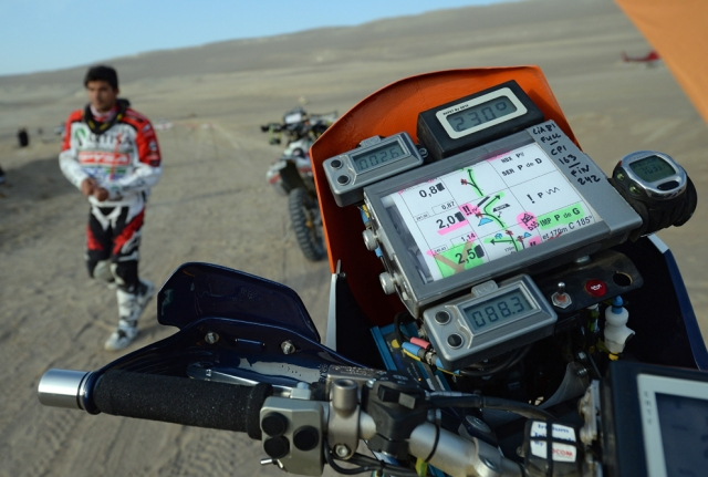 Stage 2 of the Dakar Rally in Pisco, Peru