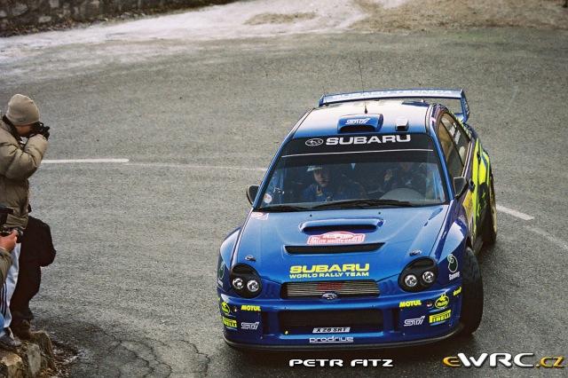 Tommi Mäkinen - Kaj Lindström - Subaru Impreza S7 WRC 2001