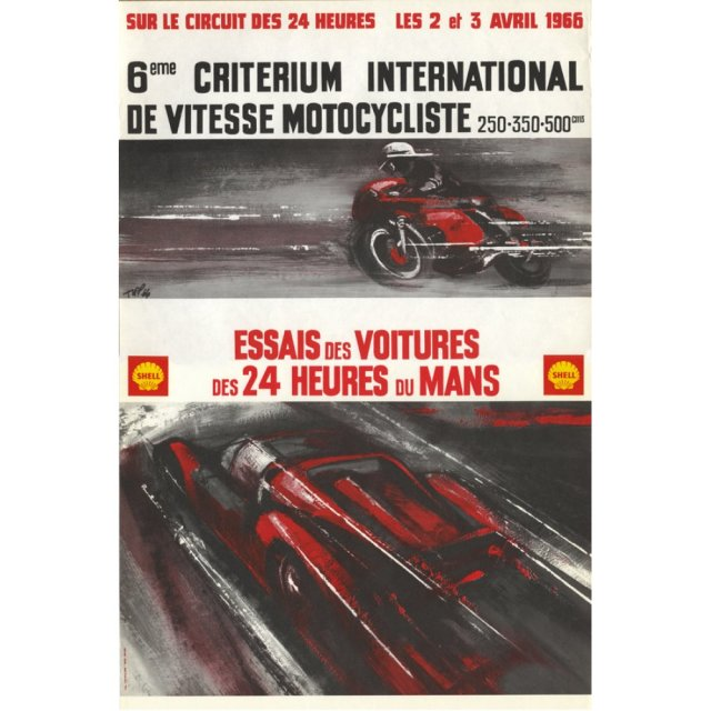 LeMans1966Esssias-OriginalRacePoster-1
