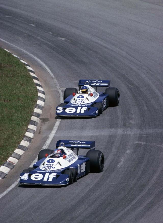 1977_Patrick_Depailler_Ronnie_Peterson_Tyrrell_P34_Cosworth_Interlagos_GP_BRA