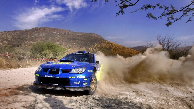 video rally freegame impreza desktop wallpaper subaru