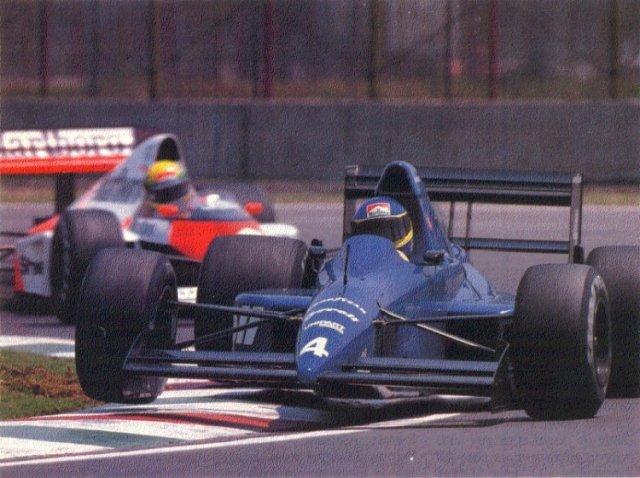 Alboreto Cidade do México 1989 Tyrrell