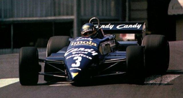 Alboreto Monaco Tyrrell 1982