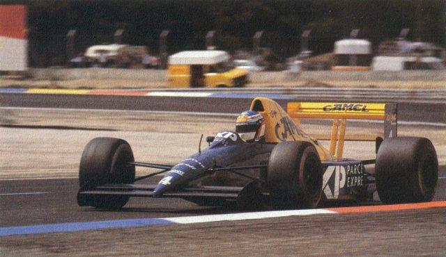 Le Castellet 1989- Jean Alesi
