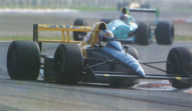 Monza 1989-Jean Alesi