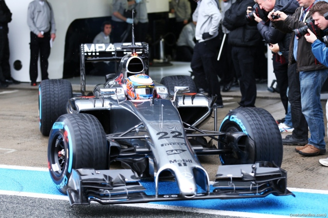 Testing F1 Jerez de la Frontera, Spain 28-31 January 2014