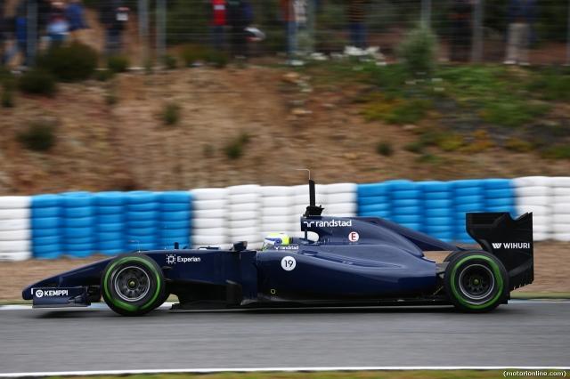 Testing F1 Jerez de la Frontera, Spain 28-31 January 2014