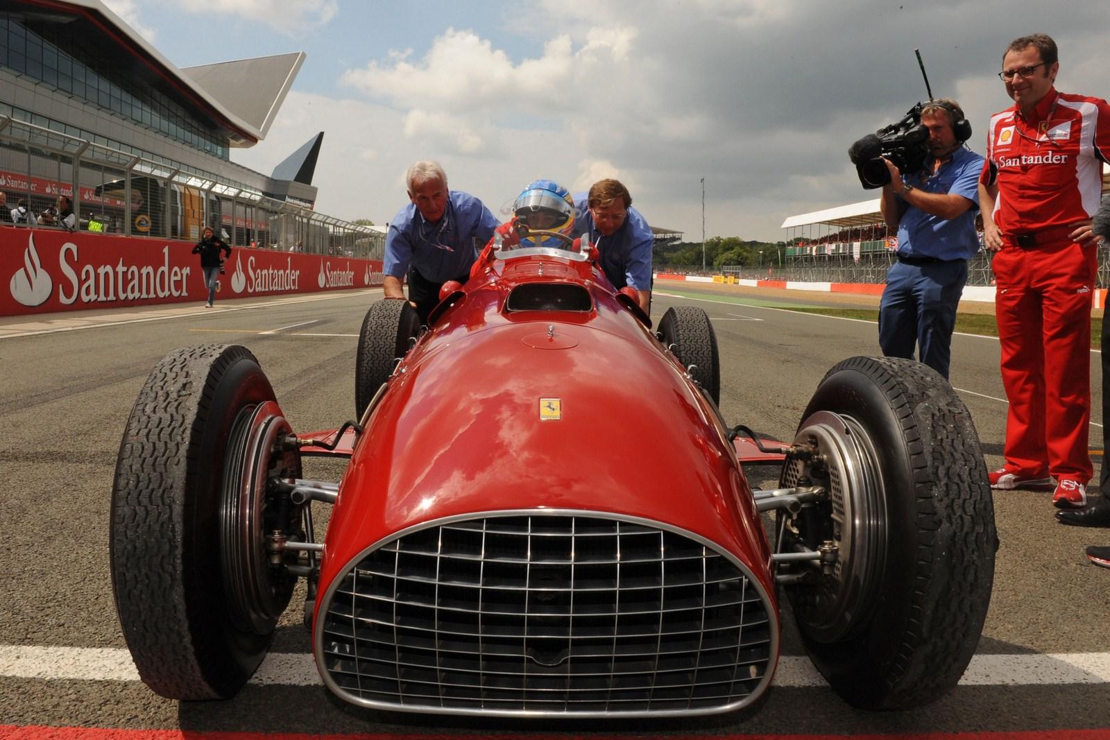Fernando Alonso Drive Ferrari 375 F1 car